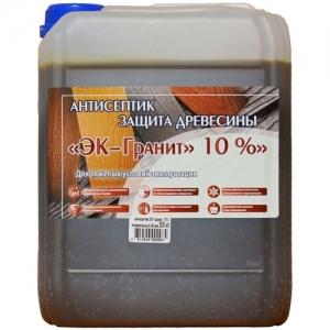 Антисептик для древесины «ЭК-Гранит 10%»