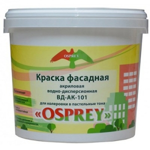 Краска фасадная акриловая водно-дисперсионная «OSPREY» ВД-АК-101