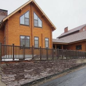 Ограждения для террас, балконов и беседок марки Holzdorf