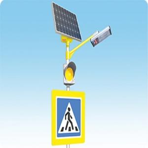 Комплект освещения пешеходного перехода STGM на солнечной электростанци