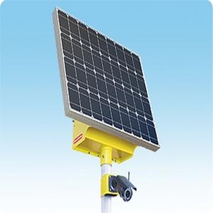 Система видеонаблюдения VGM на солнечной электростанции