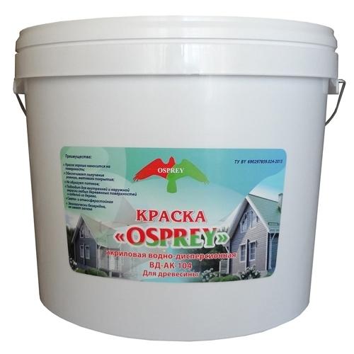 Краска акриловая водно- дисперсионная «OSPREY» ВД-АК- 104 для древесины