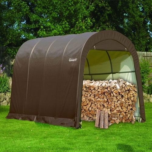 Покрытие CoverIT коричневое для гаража.Размер 3*4,5*2,4м