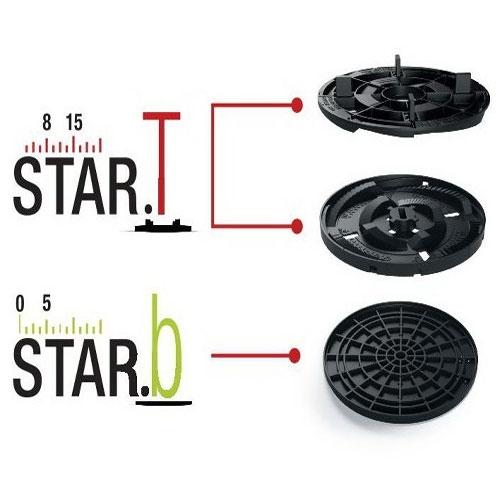Регулируемая опора для малых уклонов Star.T