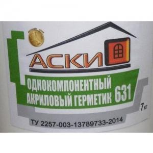 Герметик акриловый для  швов АСКИ 631