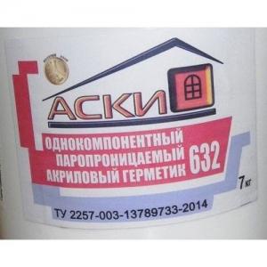 Герметик акриловый для  наружных  швов АСКИ 632