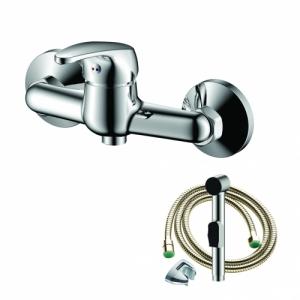 Смеситель с гигиеническим душем настенный OLIVES AVILA 02231AV