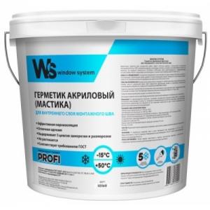 Акриловый герметик для внутреннего шва (белый)WS (WINDOW SYSTEM)