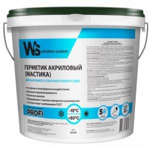 Акриловый герметик для наружного шва WS (WINDOW SYSTEM)