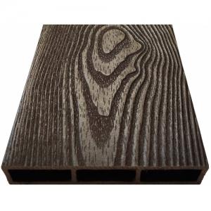 Грядки низкие из ДПК NauticPrime Esthetic Wood с 3D рисунком