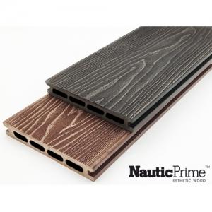 Террасная доска PREMIUM  Nautic Prime (Light) Esthetic Wood (150*24*4000мм)