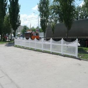 Пластиковые заборы ПВХ для загородных участков