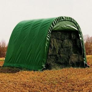Покрытие CoverIT зеленое  для гаража.Размер 3*4,5*2,4м