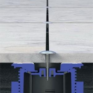 Регулируемые опоры WS (wind stability) с защитой от повышенных ветровых нагрузок