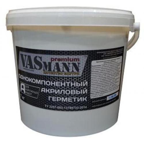 Акриловый герметик VASmann premium A для наружных работ